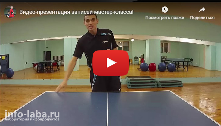 Видео урок Артема Уточкина