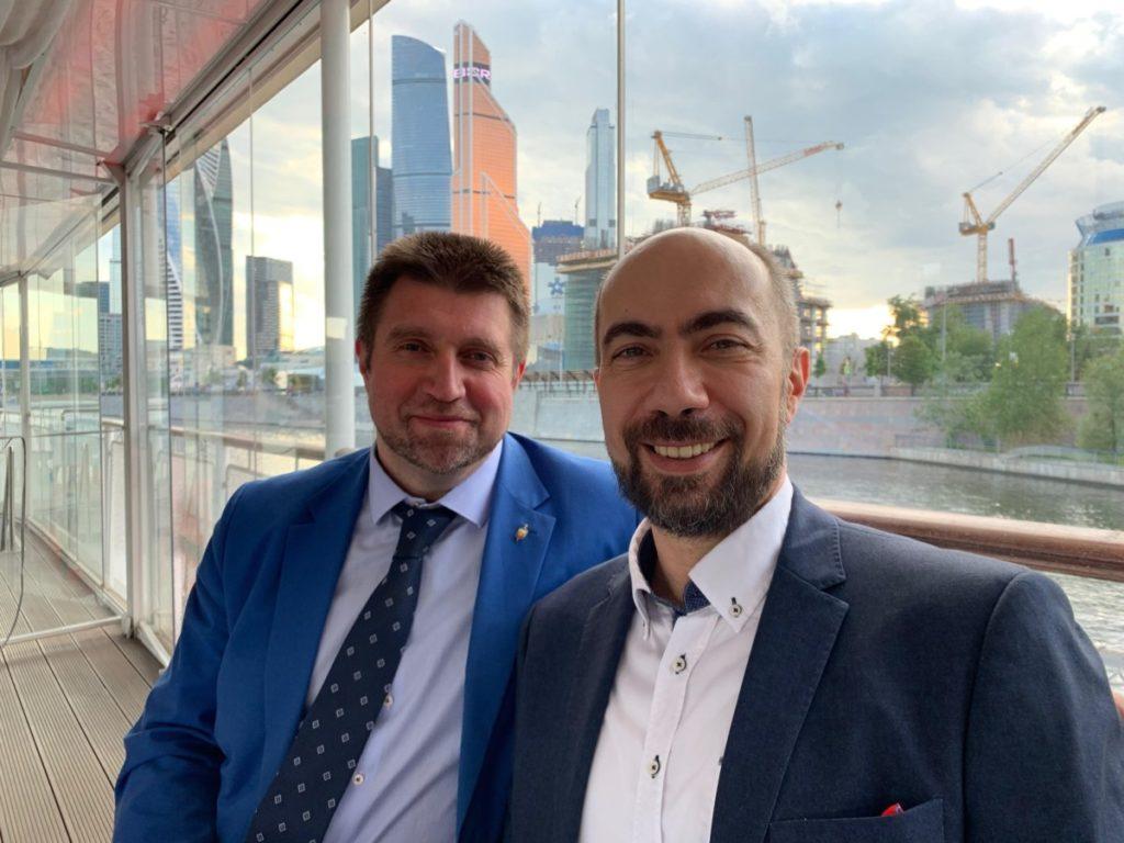 Константин Довлатов и Дмитрий Потапенко